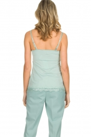 Set |  Sleeveless top with lace Chenna | light blue  | Picture 5