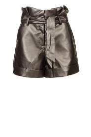 Silvian Heach |  Paperbag shorts Durham | silver  | Picture 1