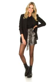 Silvian Heach |  Paperbag shorts Durham | silver  | Picture 3