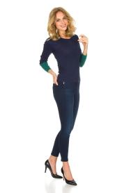Patrizia Pepe | Skinny jeans Camilla | Blauw  | Afbeelding 2
