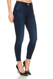 Patrizia Pepe | Skinny jeans Camilla | Blauw  | Afbeelding 3