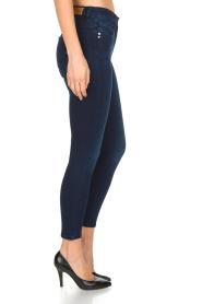 Patrizia Pepe | Skinny jeans Camilla | Blauw  | Afbeelding 4