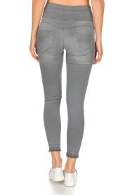 Patrizia Pepe | High waist jeans Sevella | grijs  | Afbeelding 5