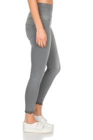 Patrizia Pepe | High waist jeans Sevella | grijs  | Afbeelding 4