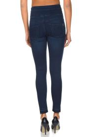 Patrizia Pepe | High waist stretch jeans Sevella | Blauw  | Afbeelding 5