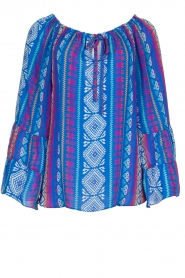 Alice & Trixie |  Printed top Giselle | blue  | Picture 1