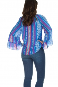 Alice & Trixie |  Printed top Giselle | blue  | Picture 5