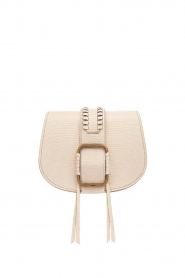 ba&sh |  Leather shoulder bag Small Teddy | natural  | Picture 1