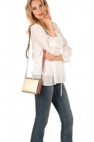 Furla | Leren schoudertas Electra S | goud   | Afbeelding 2