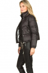 Silvian Heach :  Short down coat Calcutta | black - img6