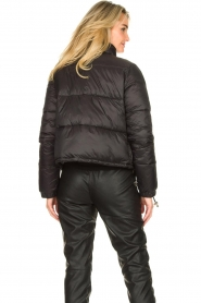 Silvian Heach :  Short down coat Calcutta | black - img7