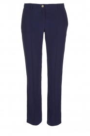 Patrizia Pepe | Pantalon Aimee | Blauw  | Afbeelding 1