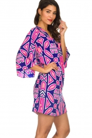Alice & Trixie |  Silk printed dress Ruth | multi  | Picture 5