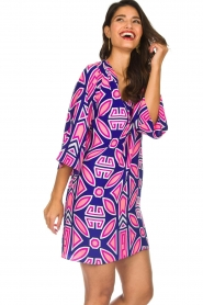 Alice & Trixie |  Silk printed dress Ruth | multi  | Picture 2