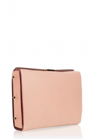 Furla |  Leather shoulder bag Electra M | old pink  | Picture 3