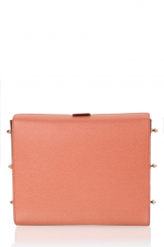 Furla |  Leather shoulder bag Electra M | old pink  | Picture 4