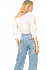 Lolly's Laundry    Broderie blouse Charlie   white    Picture 7