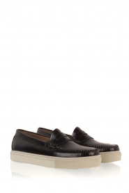 G.H. Bass & Co. |  Leather loafers Weejun Cup Penny | black  | Picture 4