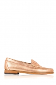 G.H. Bass & Co. |  Leather loafers Weejun Penny | copper  | Picture 1