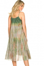 Rabens Saloner |  Tie-dye dress Gunva | green  | Picture 7