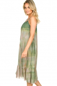 Rabens Saloner |  Tie-dye dress Gunva | green  | Picture 6