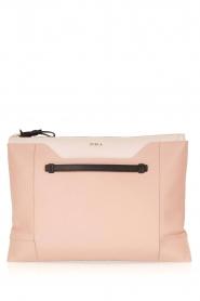 Furla | Leren clutch Pochette Fantasia XL | oud roze   | Afbeelding 1