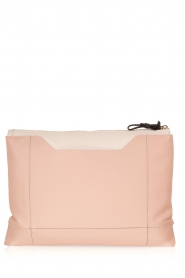 Furla | Leren clutch Pochette Fantasia XL | oud roze   | Afbeelding 4