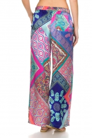 Alice & Trixie |  Silk wide leg trousers with print Uzie | multi  | Picture 5