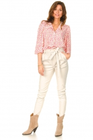 Lolly's Laundry    Blouse with floral print Frankie   pink    Picture 3