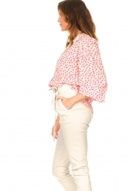 Lolly's Laundry    Blouse with floral print Frankie   pink    Picture 6