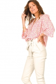 Lolly's Laundry    Blouse with floral print Frankie   pink    Picture 5