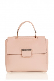 Leather handbag Artesia | pink