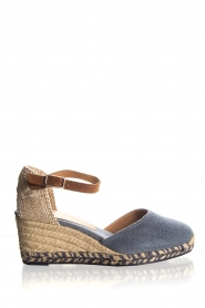 Espadrille wedges Carol | blue