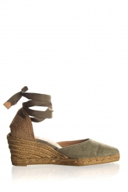 Castaner |  Espadrille wedges Joyce | green  | Picture 1