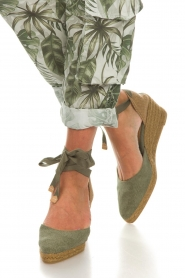 Castaner |  Espadrille wedges Joyce | green  | Picture 2