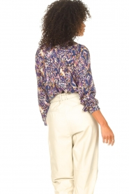 Lolly's Laundry |  Blouse with print Lari | blue  | Picture 7