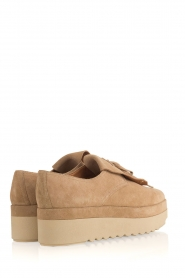 What For | Suède platform derby Arthur | naturel  | Afbeelding 4