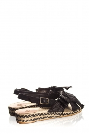 Castaner |  Sandals with bow Shania | black  | Picture 5