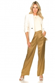 Rabens Saloner |  Trousers Jami| brown  | Picture 2