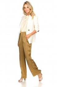 Rabens Saloner |  Trousers Jami| brown  | Picture 3