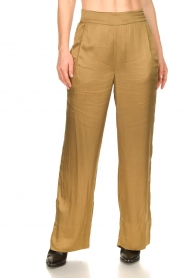 Rabens Saloner |  Trousers Jami | brown  | Picture 4