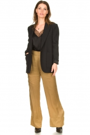 Rabens Saloner |  Trousers Jami | brown  | Picture 2