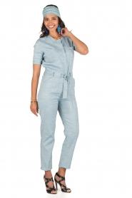 Sessun | Denim jumpsuit Belle | blauw  | Afbeelding 2