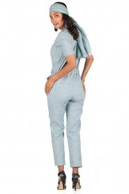 Sessun | Denim jumpsuit Belle | blauw  | Afbeelding 5