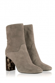 What For |  Suede ankle boots Romain | grey   | Picture 3