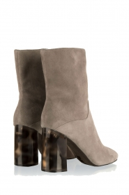 What For |  Suede ankle boots Romain | grey   | Picture 4