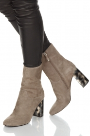 What For |  Suede ankle boots Romain | grey   | Picture 2