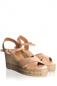 Castaner |  Espadrille wedges Blaudell | nude  | Picture 4
