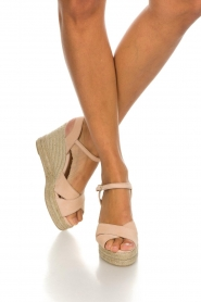 Castaner |  Espadrille wedges Blaudell | nude  | Picture 3
