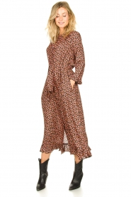 Lolly's Laundry |  Printed maxi dress Harper | black  | Picture 2